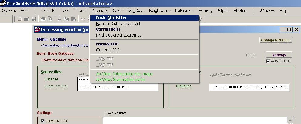 ProClimDB_menu